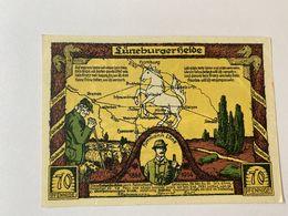 Allemagne Notgeld Luneburg 70 Pfennig - [ 3] 1918-1933 : République De Weimar