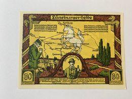 Allemagne Notgeld Luneburg 80 Pfennig - [ 3] 1918-1933 : République De Weimar