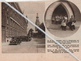 HOOGSTRATEN..1935.. HONDERDJARIG BESTAAN VAN HET SEMINARIE - Old Paper