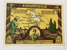 Allemagne Notgeld Luneburg 90 Pfennig - [ 3] 1918-1933 : République De Weimar
