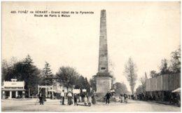 91 Foret De SENART - Grand Hotel De La Pyramide - Route De Paris à Melun - Sénart