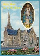 LA CLARTE - PERROS-GUIREC - La Chapelle Et La Vierge Notre Dame De La Clarté - Perros-Guirec