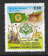 Sri Lanka 1998 5th National Scout Jamboree Rs2.50 Used Stamp SG1387 - Sri Lanka (Ceylan) (1948-...)