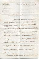 Lettre De L'évêque De Rennes, 12/10/1856 - Historical Documents