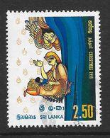 Sri Lanka 1998 Christmas Rs2.50 Used Stamp SG1415 - Sri Lanka (Ceylan) (1948-...)