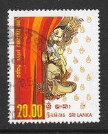 Sri Lanka 1998 Christmas Rs20.00 Used Stamp SG1416 - Sri Lanka (Ceylan) (1948-...)