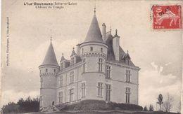 """37. L' ILE BOUCHARD .CPA. RARETE . CHATEAU DU TEMPLE. PRESENCE D'UNE EOLIENNE DE TYPE """"BOLLEE"""". ANNEE 1910 + TEXTE - L'Île-Bouchard"""