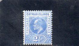 CAIMANES 1905 * FILIGRANE CA MILTIPLE - Gran Bretagna (vecchie Colonie E Protettorati)
