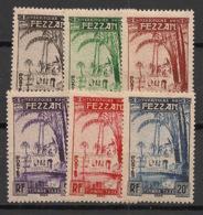 Fezzan - 1950 - Taxe TT N°Yv. 6 à 11 - Série Complète - Neuf Luxe ** / MNH / Postfrisch - Fezzan (1943-1951)