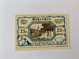Allemagne Notgeld Scheessel 25 Pfennig - [ 3] 1918-1933 : République De Weimar