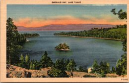 California Lake Tahoe View Of Emerald Bay - United States