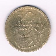 50 FRANCS 1977 RWANDA /5508/ - Rwanda