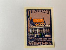 Allemagne Notgeld Schwerin 10 Pfennig - [ 3] 1918-1933 : République De Weimar