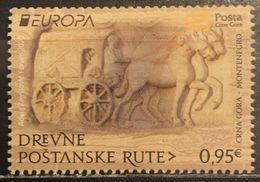 Montenegro, 2020, Europa Stamp - Ancient Postal Routes (MNH) - Montenegro