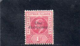 CAIMANES 1907-8 * - Gran Bretagna (vecchie Colonie E Protettorati)