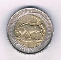 5 RAND 2006  ZUID AFRIKA /5512// - Sudáfrica