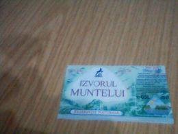 Labels Minerale Water - Etiquettes