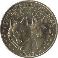 2020 MDP247 - SAINT-LÉGER-DE-PEYRE - Les Loups Du Gévaudan 7 (35 Ans) / MONNAIE DE PARIS - Monnaie De Paris