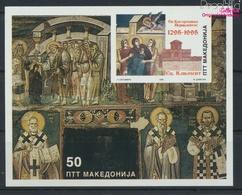Makedonien Block4 (kompl.Ausg.) Postfrisch 1995 Fresken (9458315 - Macédoine
