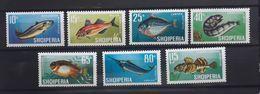 """Albanien 1967, Mi 1131-37 """"Fische"""" MNH Postfrisch - Albania"""