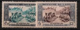 Laos - 1953 - N°Yv. 23 à 24 - Série Complète - Neuf Luxe ** / MNH / Postfrisch - Laos