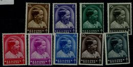 BELGIUM 1936 FIGHT AGAINST TUBERCULOSE MI No 434-41MNH VF !! - Belgium