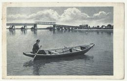Serbia Titel Bridge Boat Used 1925 - Serbia