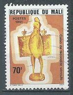 Mali YT N°404 Calao De Fécondité Senoufo Oblitéré ° - Mali (1959-...)