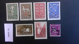 1943 Finland Postfris - Finland