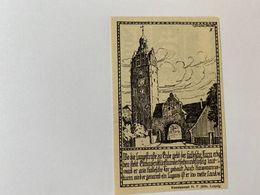 Allemagne Notgeld Zorbig 10 Pfennig - [ 3] 1918-1933 : République De Weimar