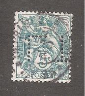 Perforé/perfin/lochung France No 111 L.T. (139) - France