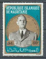 Mauritanie YT N°293 Général De Gaulle Oblitéré ° - Mauritania (1960-...)