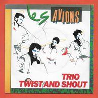 Disque Vinyle 45 Tours : LES AVIONS :  TRIO..Scan B : Voir 2 Scans - Dischi In Vinile