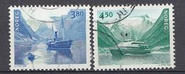 Norvège 1998  Mi.nr: 1280-1281 NORDEN: Seefahrt   Oblitérés / Used / Gest. - Norwegen
