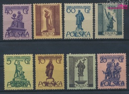 Polen 907-914 (kompl.Ausg.) Postfrisch 1955 Denkmäler Warschaus (9453622 - Unused Stamps