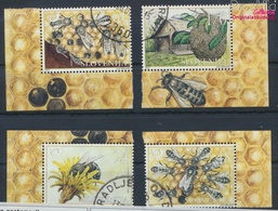 Slowenien 351-354 (kompl.Ausg.) Gestempelt 2001 Honigbienen (9464059 - Slovénie