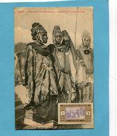 A O F- Sénégal-cfemmes Toucouleurs-gros Plan Animé-édition Fortier-années 1910-20 - Senegal
