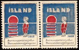 1918. JÓLIN. PAIR. () - JF363544 - Iceland