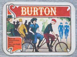 Sous-bock BURTON (velo, Cyclistes, Bicyclette) Bierdeckel Bierviltje Coaster (CX) - Sotto-boccale
