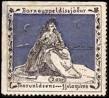 1913. Thorvaldsens Fjelagsins. Thin Spot. () - JF363551 - Iceland