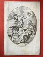 Image Pieuse - 19ième - GRAVURE - 12 Cm X 8 Cm - S. ROCHUS - ROCH - Santini