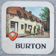 Sous-bock BURTON Bierdeckel Bierviltje Coaster (CX) - Sotto-boccale
