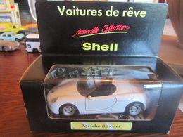 CP69 Shell, Porsche Boxster à Rétrofriction Et Portes Ouvrantes, Neuve En Boite - Cars & 4-wheels