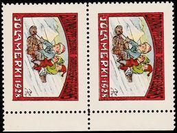 1928. JÓLIN. Pair. () - JF363577 - Iceland