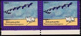 1929. JÓLIN. Pair. () - JF363579 - Iceland