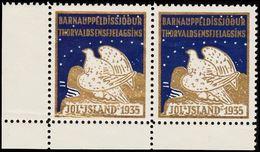 1935. JÓLIN. Pair. Fold. () - JF363581 - Iceland