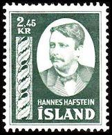 1954. Hannes Hafstein. 2,45 Kr. (Michel 294) - JF363583 - 1944-... Republic