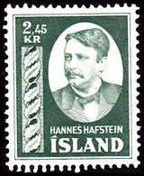 1954. Hannes Hafstein. 2,45 Kr. (Michel 294) - JF363586 - 1944-... Republic