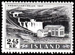 1956. Electric Power Plants And Waterfalls Og Vandfald. 2,45 Kr. (Michel 308) - JF363597 - 1944-... Republic