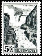 1956. Electric Power Plants And Waterfalls Og Vandfald. 5 Kr. (Michel 310) - JF363601 - 1944-... Republic